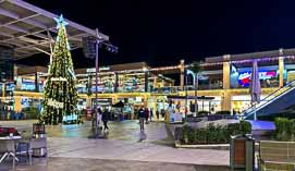 zenia boulevard with christmas decorations