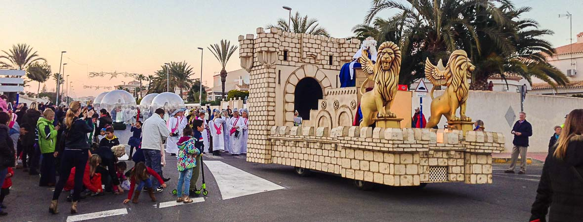 three kings celebration la zenia - alicante