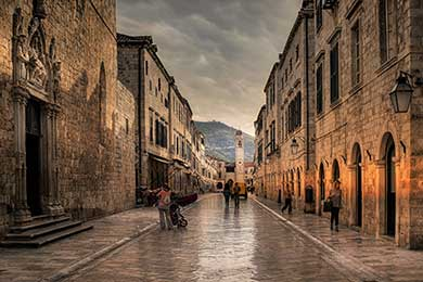 The Old Historical Town of Dubrovnik